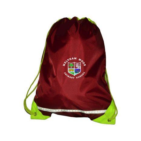 drawstring-bag-meltham-moor-primary-school.huddersfield